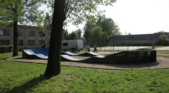 Mobiler Fahrradweg